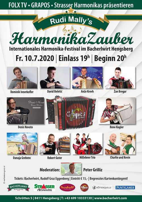 Rudi Mally\'s Harmonikazauber