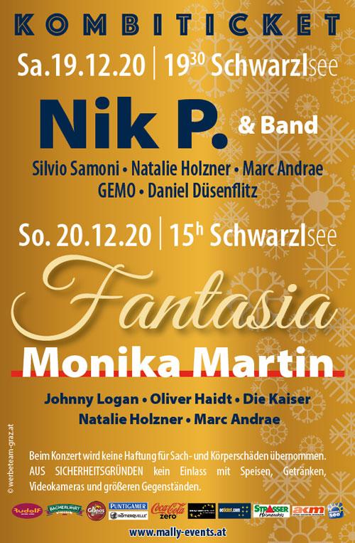 Weihnachtsshow Fantasia - Weihnachtskonzert Nik P.