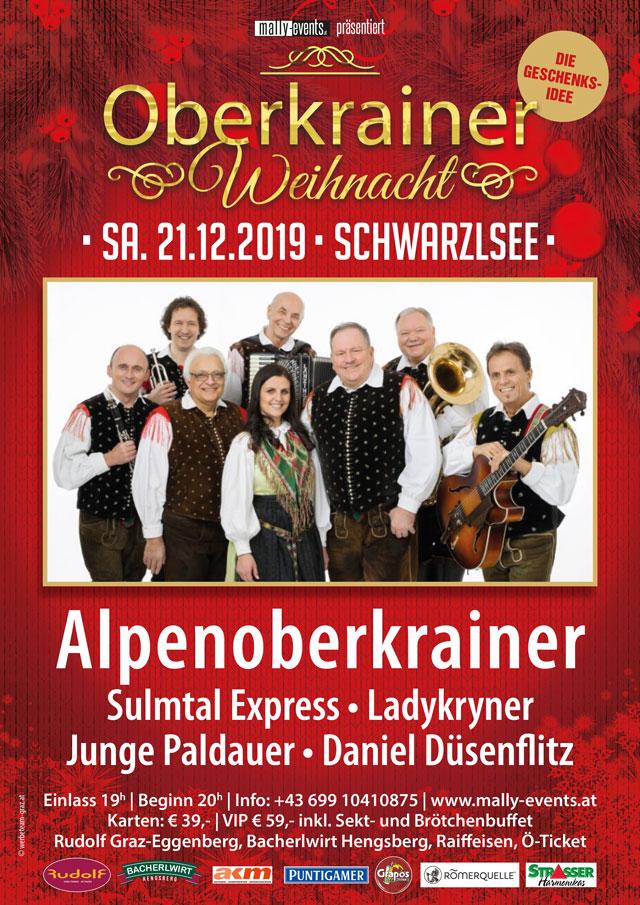 Oberkrainer Weihnachtskonzert 2019 in Graz